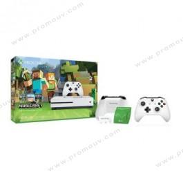 Console Xbox One S [500 Go] Blanc