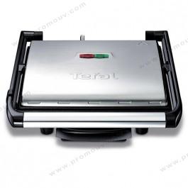 Tefal GC241D12 Grill viande multifonction et appareil à paninis 2000W, Silver