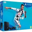 CONSOLE PS4 SLIM 500GO + FIFA 2019 + 2 Manettes