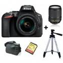 Nikon D7100 body+AF DX 18- 55 VR +Tripied ou Sacoche+SD Externe SanDisk 32Go