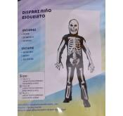 Halloween Déguisement Squelette pour enfants Tunisie