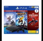 SONY CONSOLE PS4 SLIM 500G+SPIDER+HZN+RC 65361512873 Tunisie