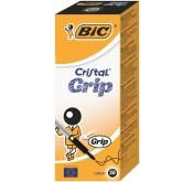 Lot de 20 stylos Bic Cristal Grip Box X20 Tunisie