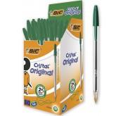 Bic Cristal Original Box X50 - Vert Tunisie