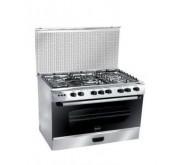 cuisinière AZUR AZ6080INX 5 feux inox