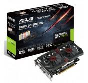 arte graphique ASUS STRIX-GTX750TI-OC-2GD5 - 2 Go de mémoire DDR5 dédiée