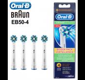 Lot de 4  Brossettes Oral-B EB50-4 Tunisie