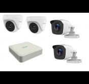 HiLook Kit DVR 8 ports + 2 caméras interne + 2 caméras externe