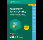 Kaspersky Total Security (5 utilisateur)2018