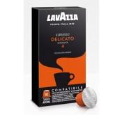 Capsule Lavazza compatible avec la machine nespresso Delicato