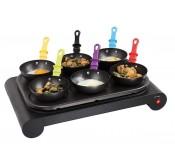 Appareil 3 en 1 crépière wok&grill LIVOO DOM200 Tunisie