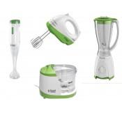 Pack Kitchen collection; Blender 1.5L, Mini Hachoir 0.4L, Mixeur 250W & Batteur 200W