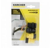 Kärcher Set de brosse ronde accessoire pour nettoyeurs vapeur sc1-sc4 Tunisie