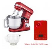 Fakir Culina Chef Kitchen  rouge