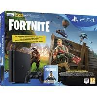 CONSOLE PS4 SLIM 500 Go + FORTNITE