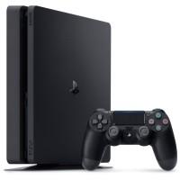 PS4 Console SLIM Jet Black [500 Go] +jeu BATTLEBORN bundle