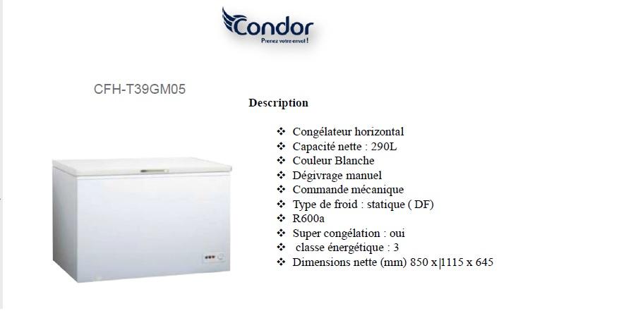 Condor CFH-T390GM05